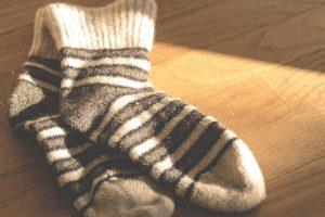 chaussettes claquettes