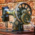 Une machine à coudre