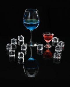 verre en cristal